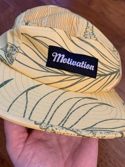 5 Panel Strap back Cap Motivation MTVTN yellow for Sale in St. Louis,  MO