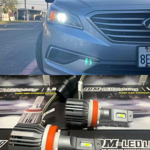 JDM Led Headlights 1 year Warranty With Me Free Installation To Most Cars for Sale in Grand Terrace, CA