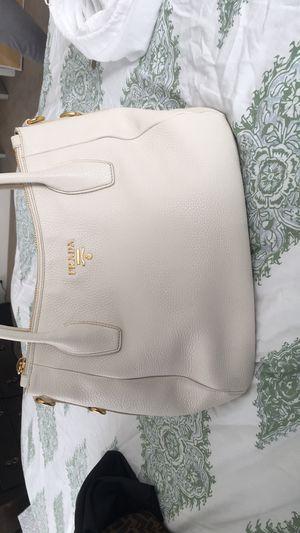 Prada off white authentic bag for Sale in Cumming, GA