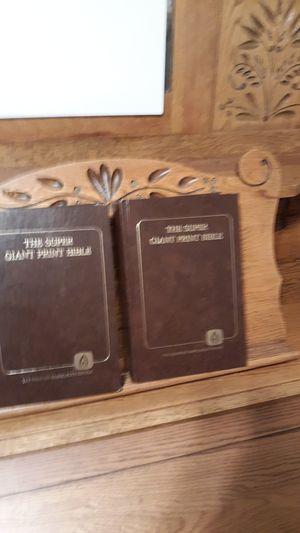 SUPER GIANT PRINT BIBLE for Sale in Lynchburg, VA