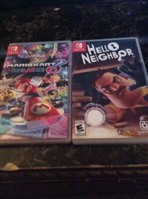 Nintendo switch games for Sale in Tampa, FL