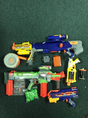Nerf toy gun lot for Sale in Howell, NJ