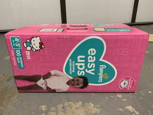 Pampers Easy Ups for Sale in La Mesa, CA