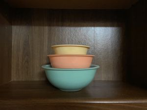 Vintage Pyrex mixing bowls for Sale in Vancouver, WA