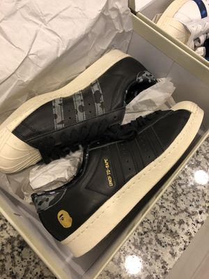 Bape Undefeated Adidas size 9.5 for Sale in Fort Lauderdale, FL