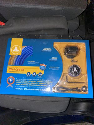 Jl audio Premium Amp power wiring kit for Sale in Los Angeles, CA