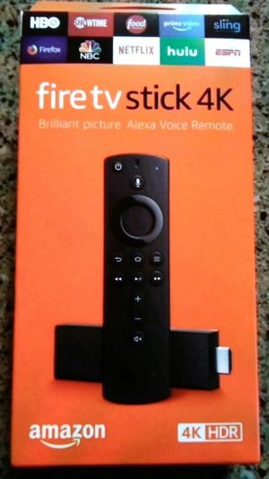 4k amazon fire tv stick unl0cked for Sale in North Miami Beach, FL