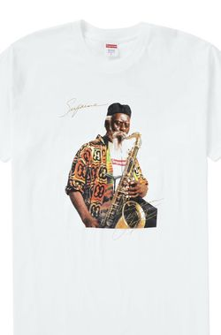 Supreme Pharoah Sanders Tee White (FW20) Medium for Sale in Hollywood,  FL