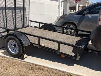 Trailer 5'x8' w 4' ramp for Sale in Bulverde,  TX