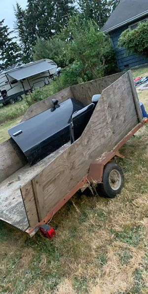 Good trailer need gone no title used for dumps for Sale in Marysville, WA
