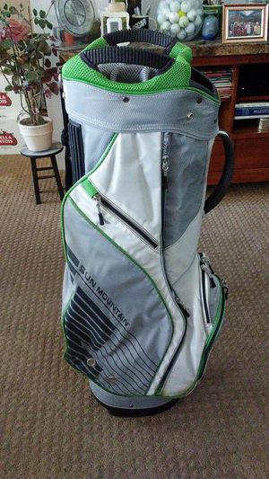 Sun Mountain X1Cart Golf Bag 15 Way Rain Hood Cooler Pocket for Sale in Cathedral City, CA