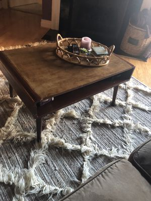 Urban outfitters mid century modern coffee table for Sale in Chantilly, VA