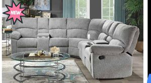 New Light Grey Recliner Sectional for Sale in Austin, TX