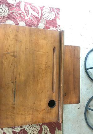 Antique wood/metal frame child's school desk for Sale in Alpharetta, GA