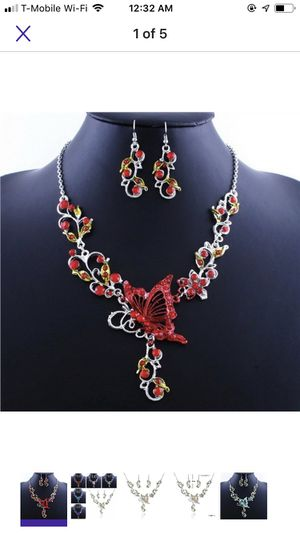 Butterfly necklace set for Sale in Irving, TX