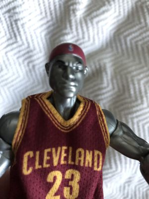LeBron James Cleveland collectors action figure for Sale in Layton, UT
