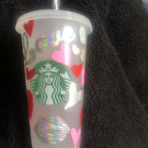 Starbucks Reusable Valentine's Day Tumbler for Sale in Kent, WA