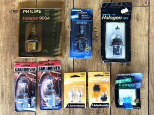 Lot of 10 New Automotive Light Bulbs, Headlights, Tail-lights, Etc for Sale in Renton, WA