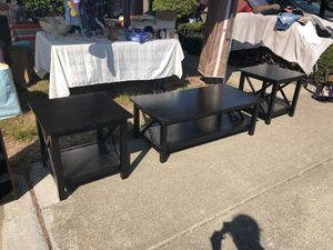 Living room table set for Sale in San Leandro, CA