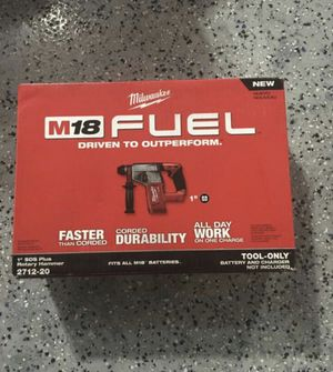 """Milwaukee 1"""" SDS plus hammer drill BARE TOOL for Sale in Lemont, IL"""