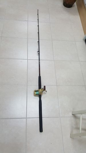 Shimano Calcuta 700 with Star Rods SS 20 FHC Rod for Sale in Pembroke Park, FL