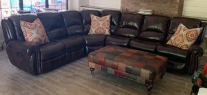Sectional and ottoman for Sale in Tyler, TX