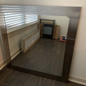 Room & Board SS Wall Mirror 42 X 42 for Sale in Washington, DC