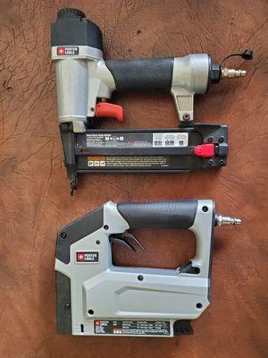 Porter Cable Finishing Nailer and Stapler (Nail Gun & Stapler) for Sale in Pembroke Pines, FL