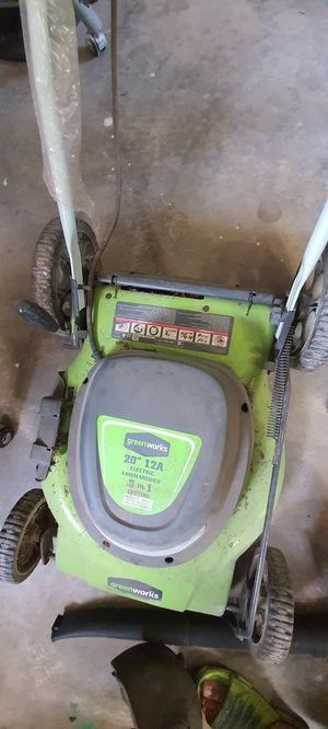Greenworks 20-Inch 12 Amp Corded Lawn Mower 25022 $85 for Sale in Sterling, VA