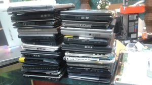 40 old computer laptops for parts or recycling ( Hp, sony, dell toshiba, etc) for Sale in Dallas, TX