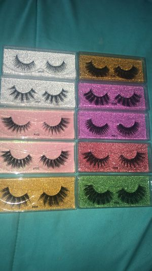 REUSABLE EYELASHES!!!! for Sale in Grand Prairie, TX