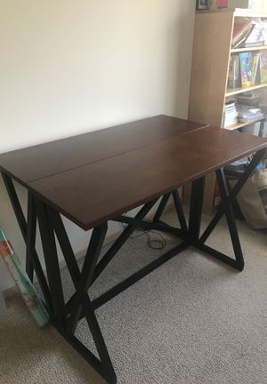 Console table with fold out for Sale in Redmond, WA