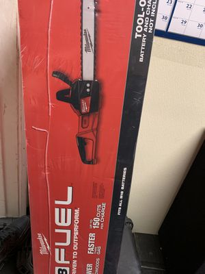 Milwaukee chainsaw for Sale in East Bridgewater, MA