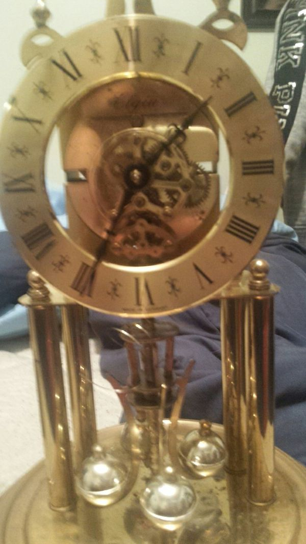 An antique clock. ( ELGIN )