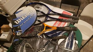4 rackets 3 tennis for Sale in Fort Lauderdale, FL