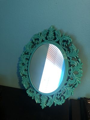 Teal wall mirror for Sale in Aloha, OR