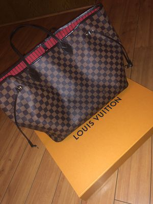 Louis Vuitton. NEVERFULL GM. Damier Ebene. for Sale in Walnut Creek, CA