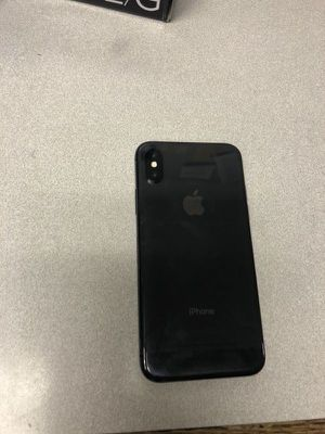 Black iPhone X with all accessories for Sale in Washington, DC