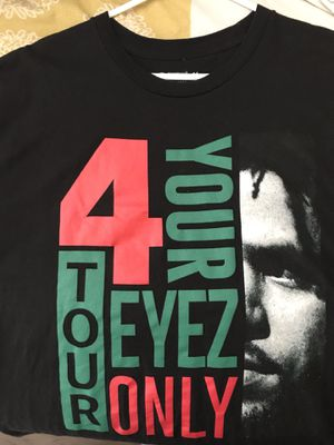 J. Cole 4 Your Eyez Only Tour Shirt for Sale in Vancouver, WA