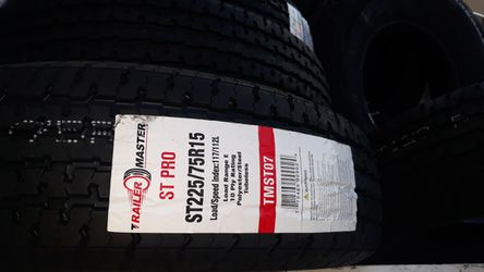 st225 75 r15 trailers tires 4new $260 for Sale in Escondido,  CA