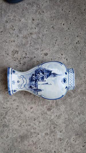 Rare Antique Delft Blue Holland Vase for Sale in Rocklin, CA