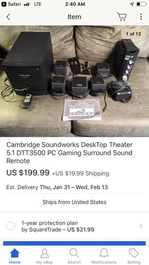 Surround sound brand new for Sale in Parkersburg, WV