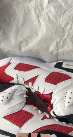 Jordan 6 Carmines 2021 for Sale in Snellville,  GA