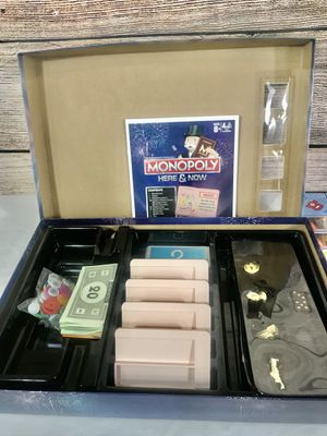 Monopoly here and now board game us edition new york america for Sale in East Orange, NJ