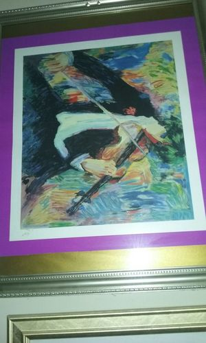 Man with a Violin Painting for Sale in Norfolk, VA