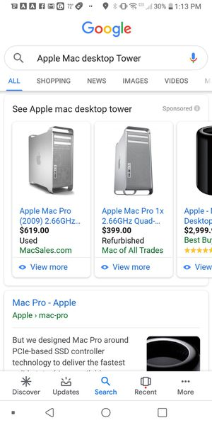 Apple Mac Pro for Sale in Panama City, FL