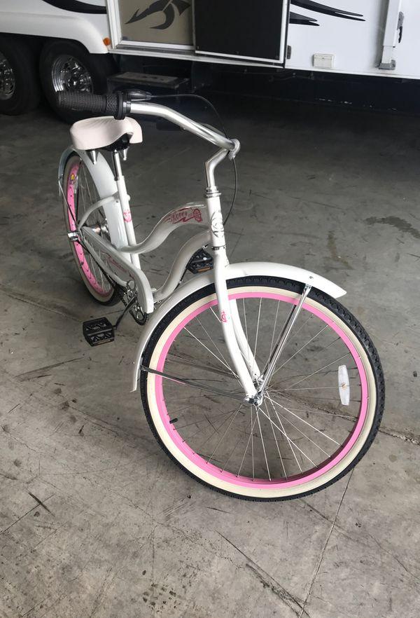 Cruiser bike three speed