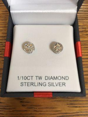 Women's diamond earrings for Sale in Denver, CO
