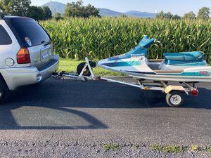 97 Kawasaki jet ski and trailer for Sale in Henrico, VA