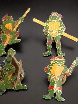 8 vintage pins from Teenage Mutant Ninja Turtles for Sale in Plano,  TX